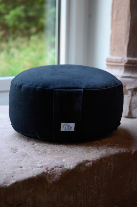 Sitzkissen,  schwarz, mittlere Größe