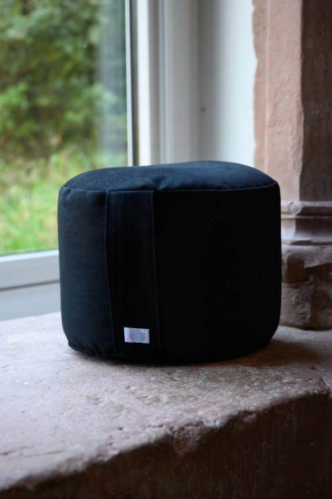 Sitzkissen schwarz, hohe Größe