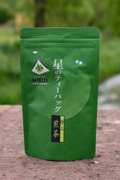 Sencha Hoshi  Grüntee aus Japan im Teebeutel