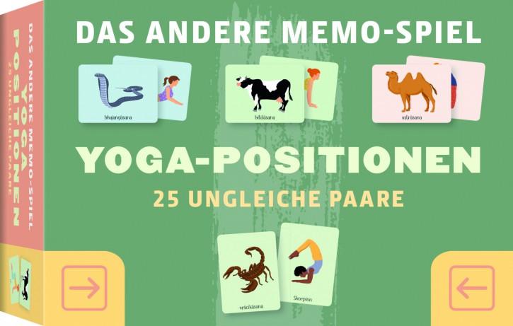 MEMO-SPIEL Yoga-Positionen